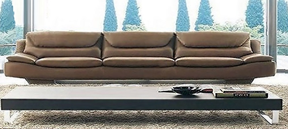Well Known Italian Leather Sofa Oscar Seniorcalia Maddalena Pertaining To 4 Seat Leather Sofas (View 15 of 15)