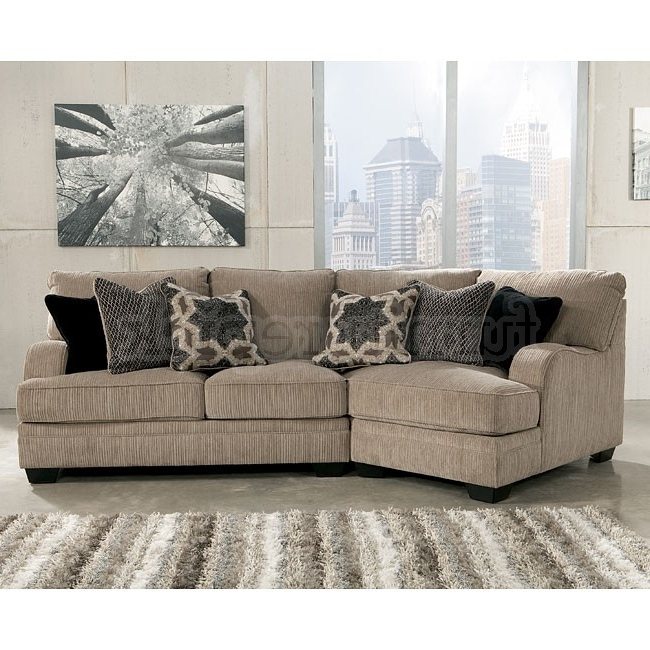 Well Known Katisha Platinum Small Modular Sectional W/ Cuddler (View 10 of 10)