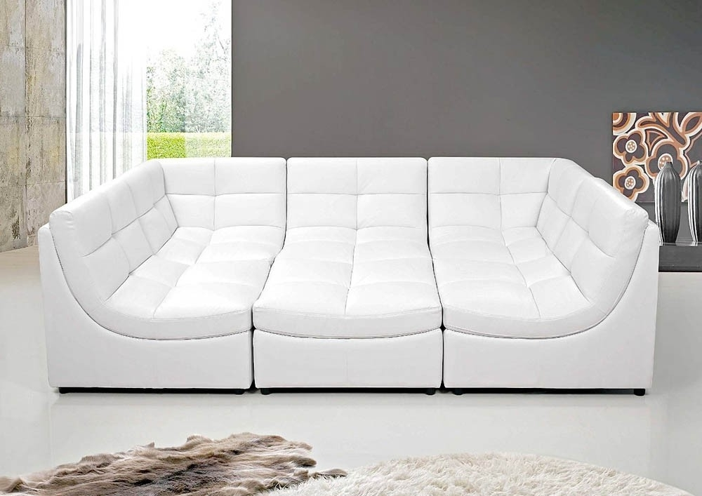 Well Known Leather Modular Sectional Sofas With Modular Sectional Sofa (View 4 of 10)