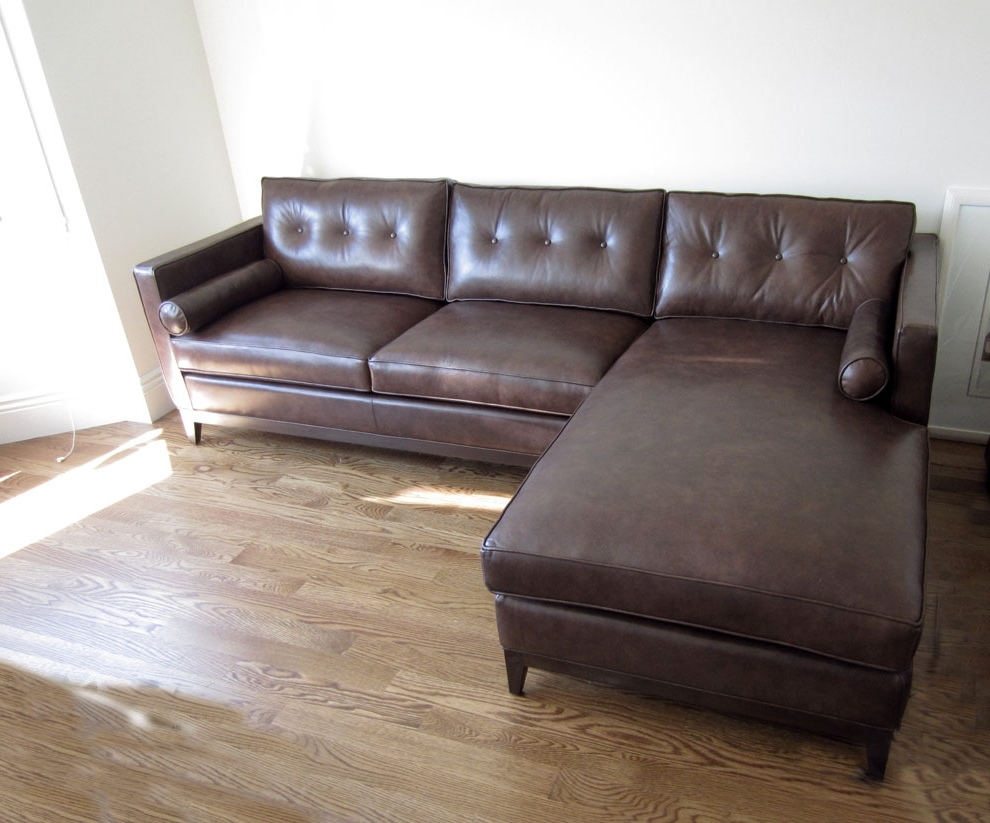 Well Known Leather Sofa Chaises Intended For 19 Leather Sofas With Chaise (View 10 of 15)