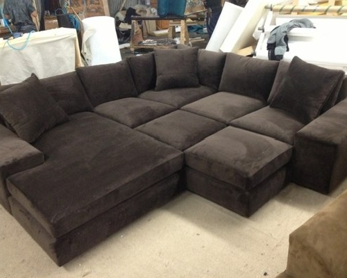 Well Known Media Room Sectional Sofas In Media Room Custom Sectional Sofa  (View 10 Of