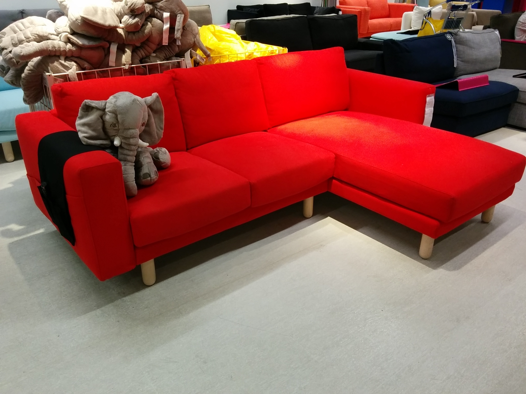 Well Known Norsborg Sofa Review Regarding Red Chaises (View 14 of 15)