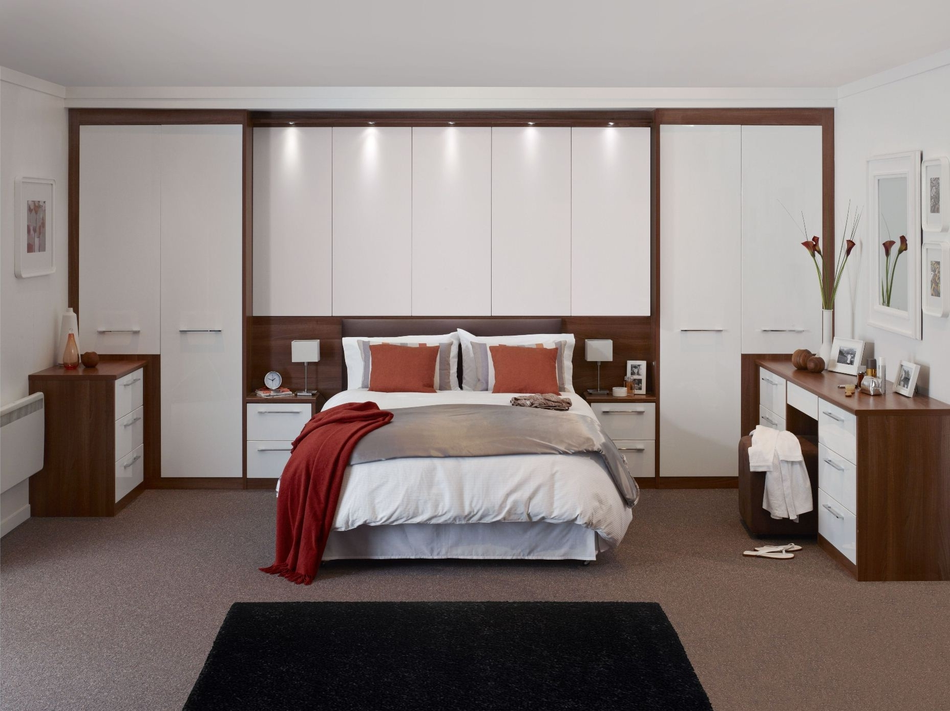 Well Known Over Bed Wardrobes Sets Within 22 Fitted Bedroom Wardrobes Design To Create A Wow Moment (View 8 of 15)