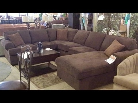 Well Known Oversized Sectional Sofa – Youtube For Oversized Sectional Sofas (View 10 of 10)