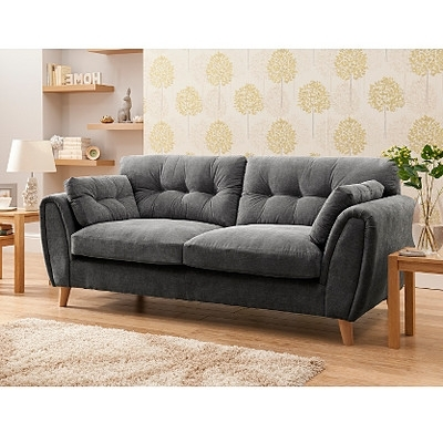 Well Known Richmond Large Sofa In Pewter (View 8 of 10)