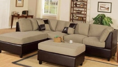 Well Known Sectional Sofa Design: Best Sectional Sofas With Ottoman Design In Sofas With Ottoman (View 10 of 10)