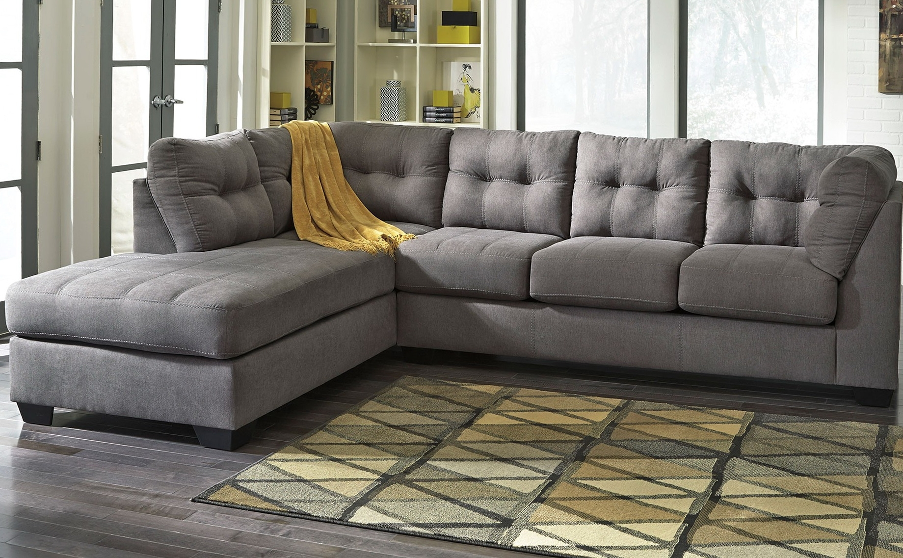 Well Known Sectional Sofas With Chaise With Sofa ~ Awesome Grey Sectional Sofa Perfect Grey Sectional Sofa (View 15 of 15)