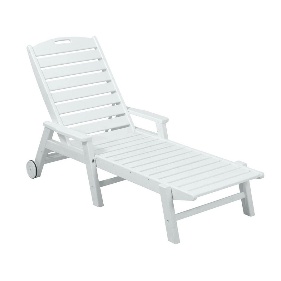 15 The Best White Chaise Lounge Chairs