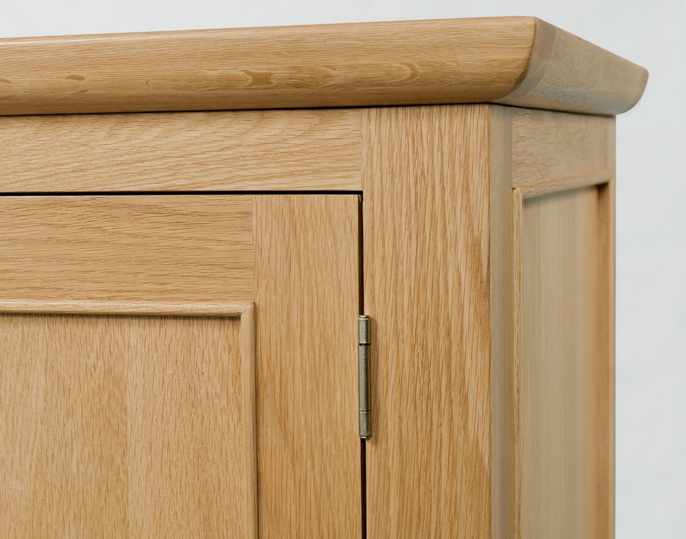 Well Known Single Oak Wardrobes With Drawers With Regard To Cheshire Light Oak Single Wardrobe With Drawer (View 13 of 15)