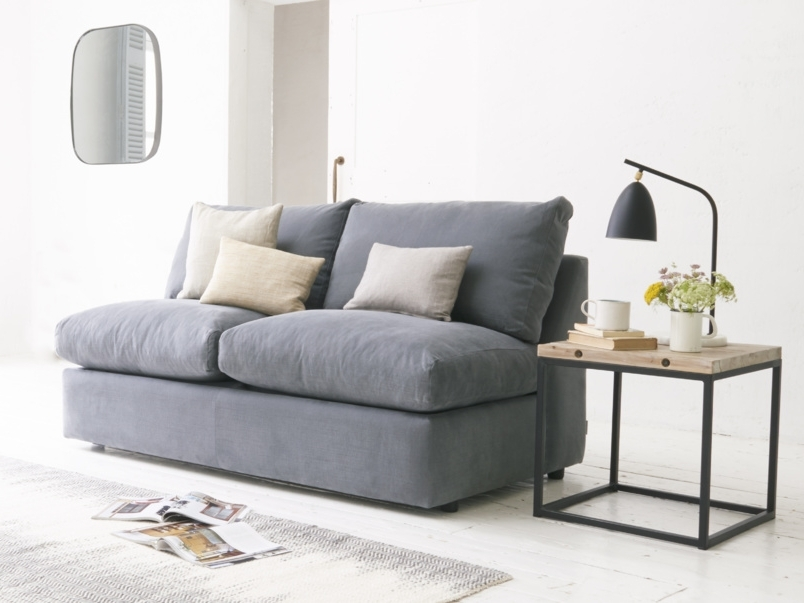Well Known Sofa Armless Sofa Bed Armless Sofa Bed Australia Armless Sofa With Small Armless Sofas (View 10 of 10)