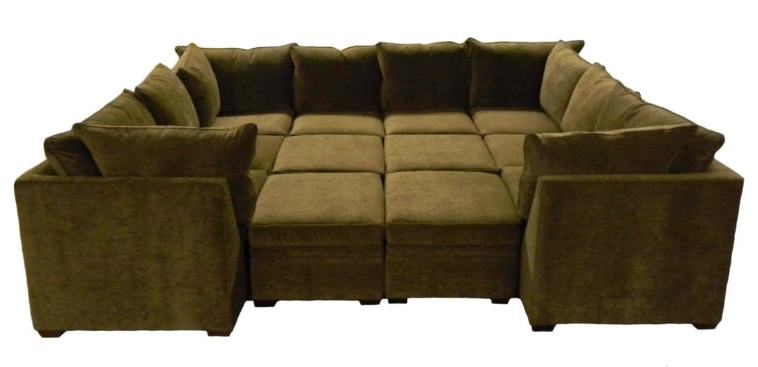 Well Known Sofas With Large Ottoman Intended For Furniture (View 9 of 10)