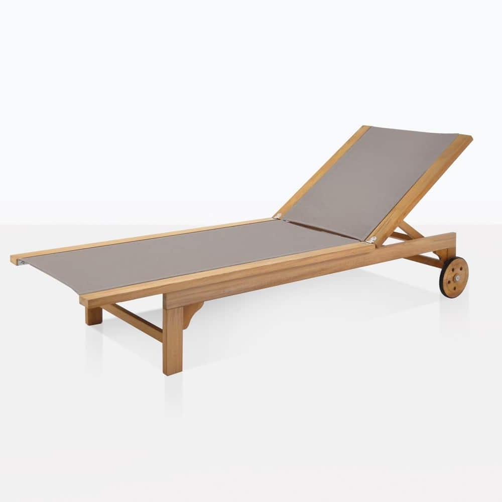 Well Known Sun Loungers, Chaise Lounges And Daybeds (View 15 of 15)