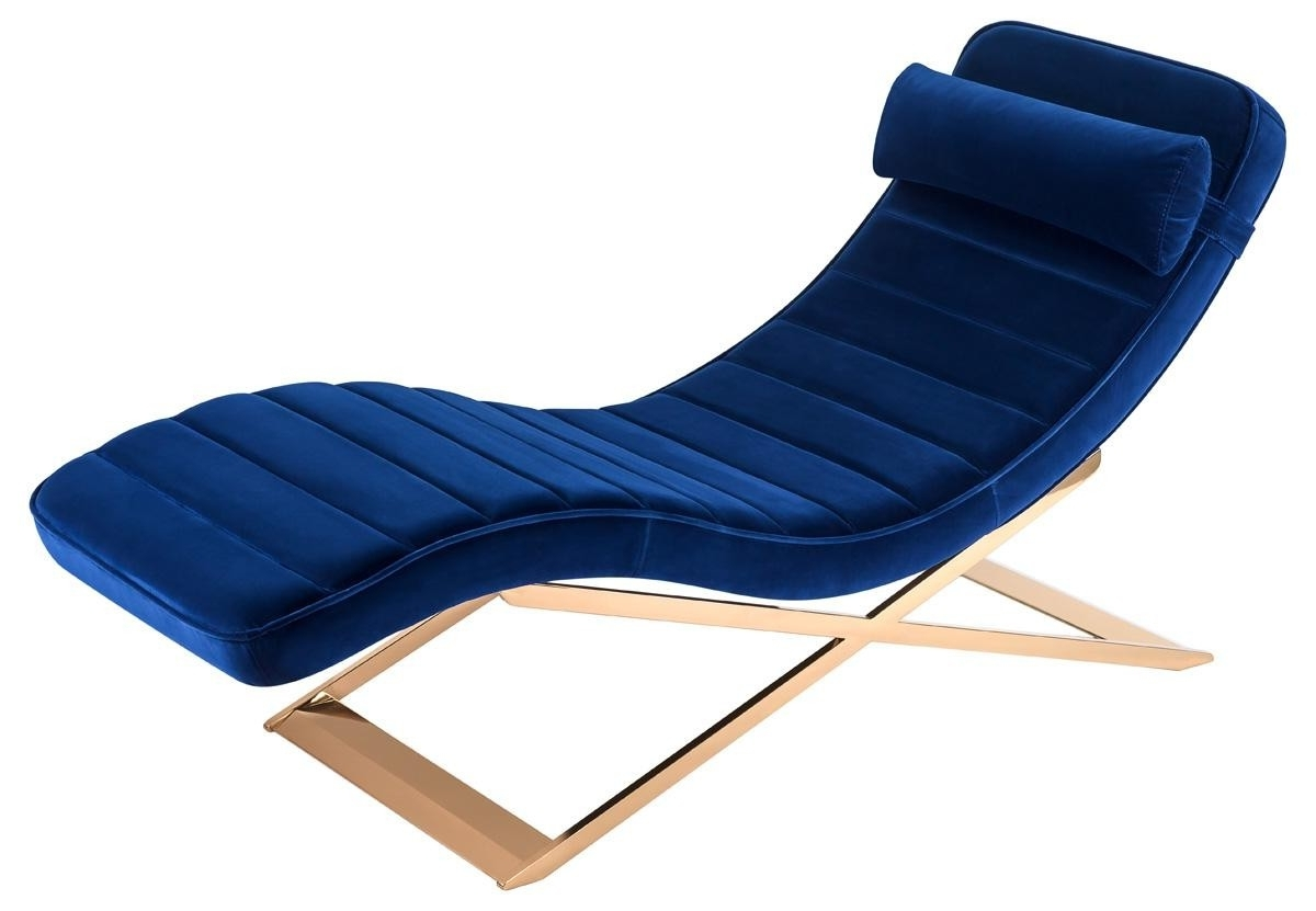 Well Known The Well Appointed House – Luxuries For The Home – The Well With Blue Chaise Lounges (View 15 of 15)