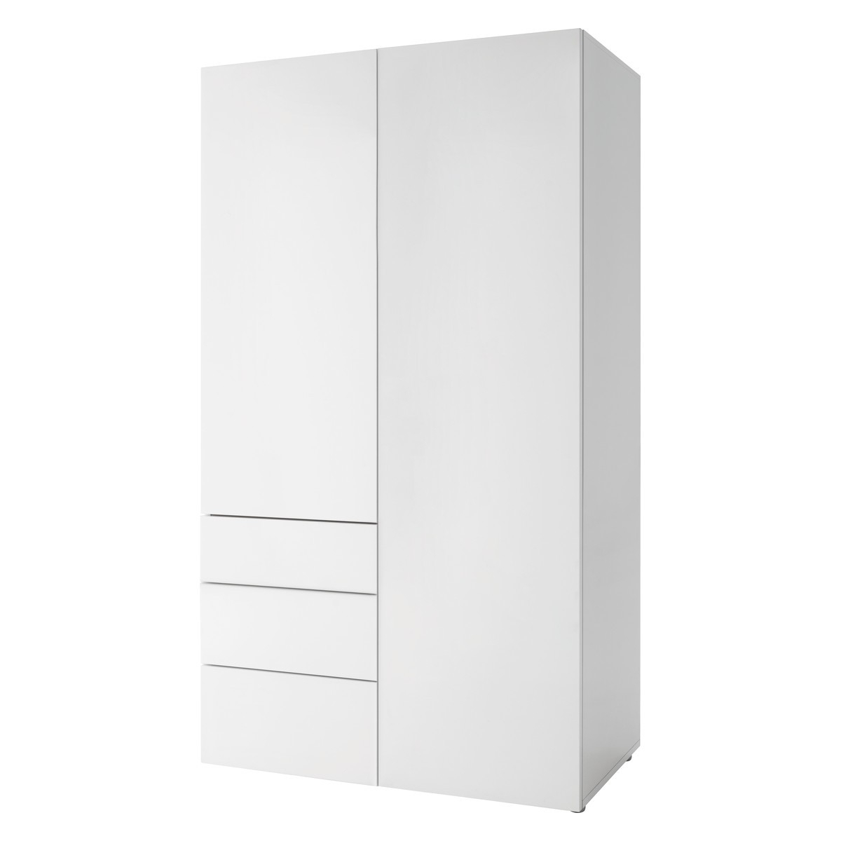 Well Known Two Door White Wardrobes With Regard To Wardrobes, Bedroom Clothes Rails & Storage At Habitat Uk (View 10 of 15)