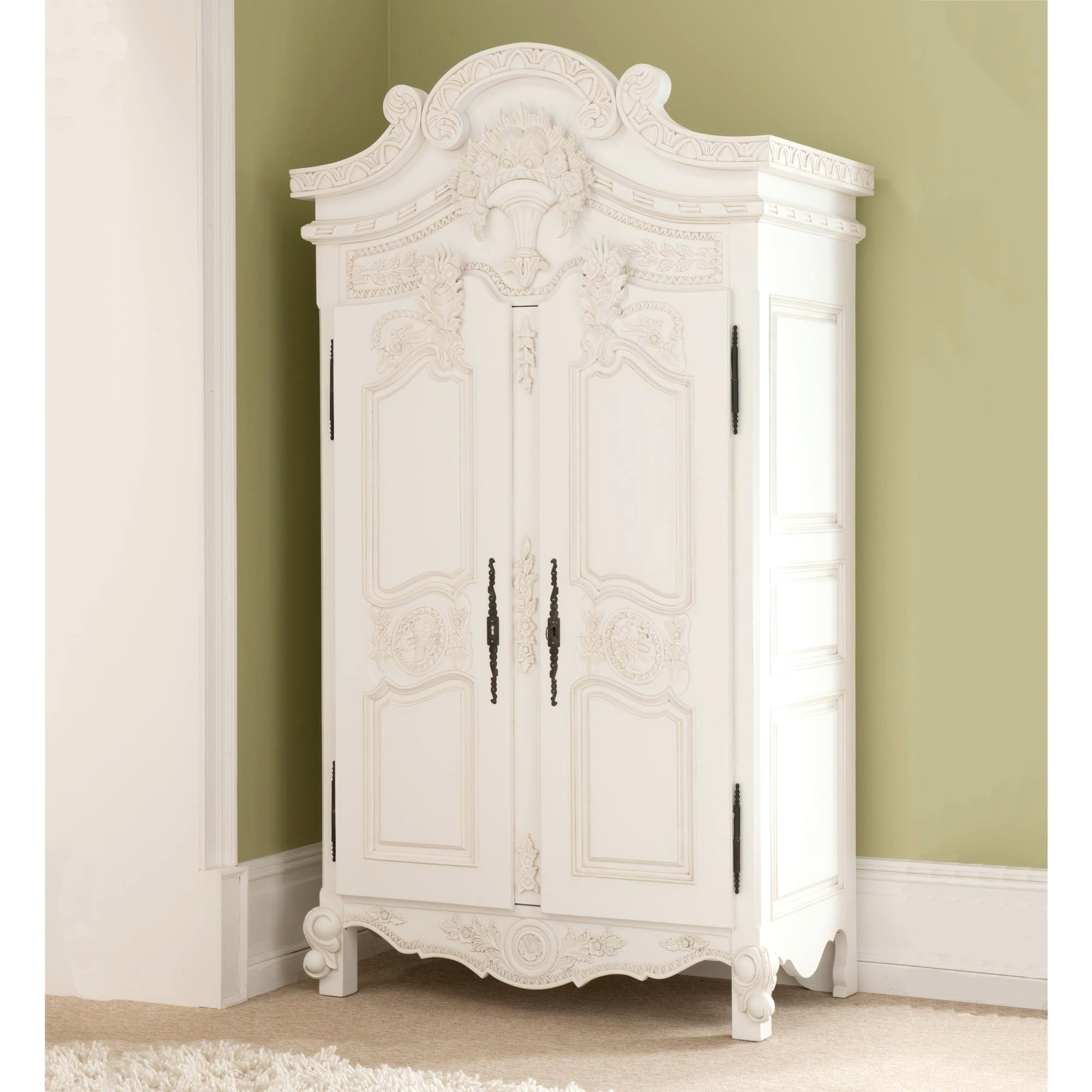 Well Known Vintage Armoire – Blahblahfire Throughout Cheap Vintage Wardrobes (View 14 of 15)