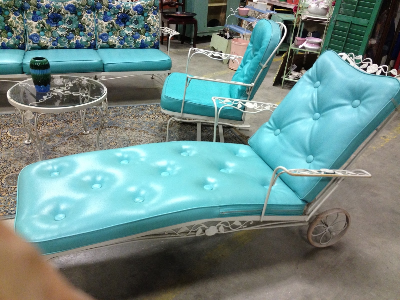Well Known Vintage Outdoor Chaise Lounge Chairs Inside C (View 9 of 15)