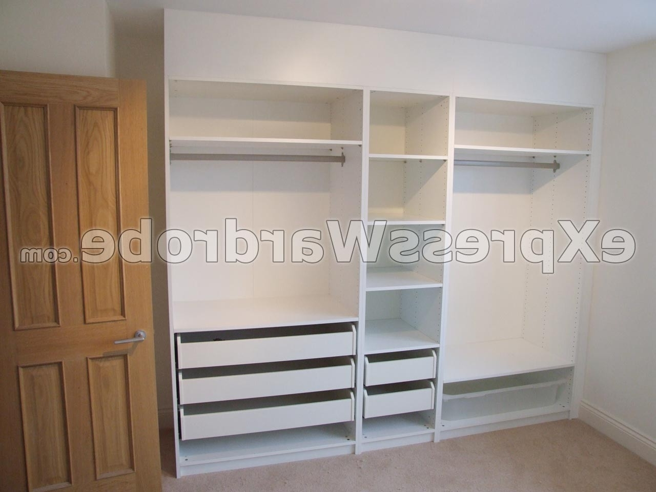 Well Known Wardrobes Cheap In Fresh Cheap Fitted Wardrobes Ikea – Badotcom (View 14 of 15)