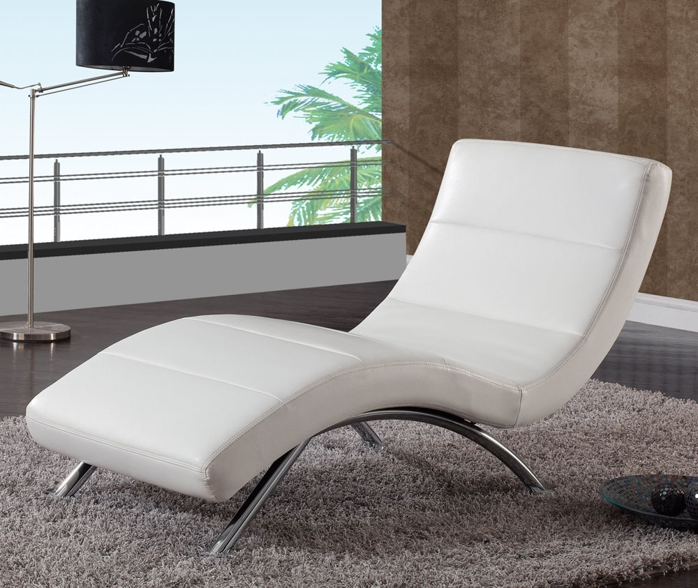 Well Known White Chaise Lounge Chairs Inside Way To Clean Leather Chaise Lounge Chair — Jacshootblog Furnitures (View 5 of 15)