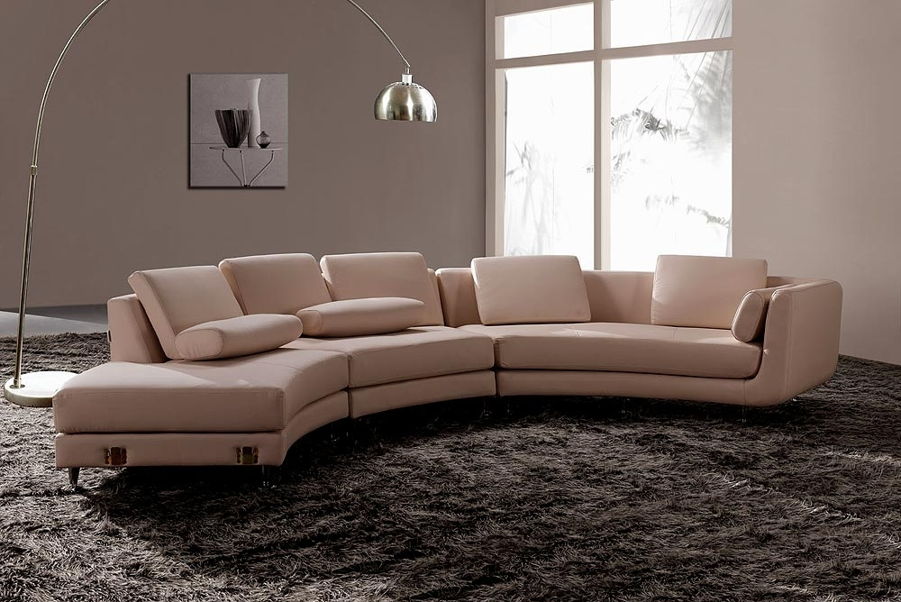 Well Known White Italian Leather Round Sectional Sofa 20 – S3Net – Sectional Regarding Round Sofas (View 10 of 10)