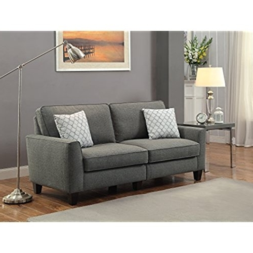 Well Liked Apartment Size Sofa: Amazon With Regard To Apartment Size Sofas (View 8 of 15)