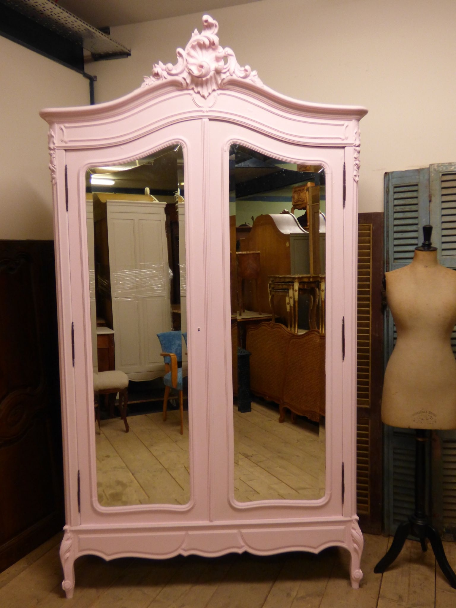 Well Liked Bedroom Furniture – The French Depot Intended For French Wardrobes For Sale (View 15 of 15)