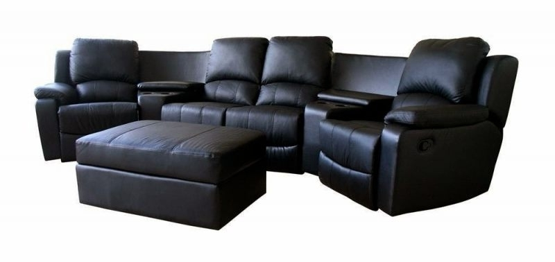 Featured Photo of Curved Recliner Sofas