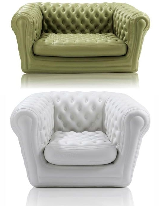 Well Liked Blofield's Inflatable Furniture Acts Classy, Appears To Succeed For Inflatable Sofas And Chairs (View 9 of 10)
