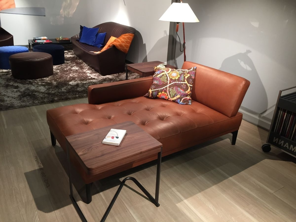 Well Liked Brown Leather Chaise Lounges Intended For Furniture (View 8 of 15)