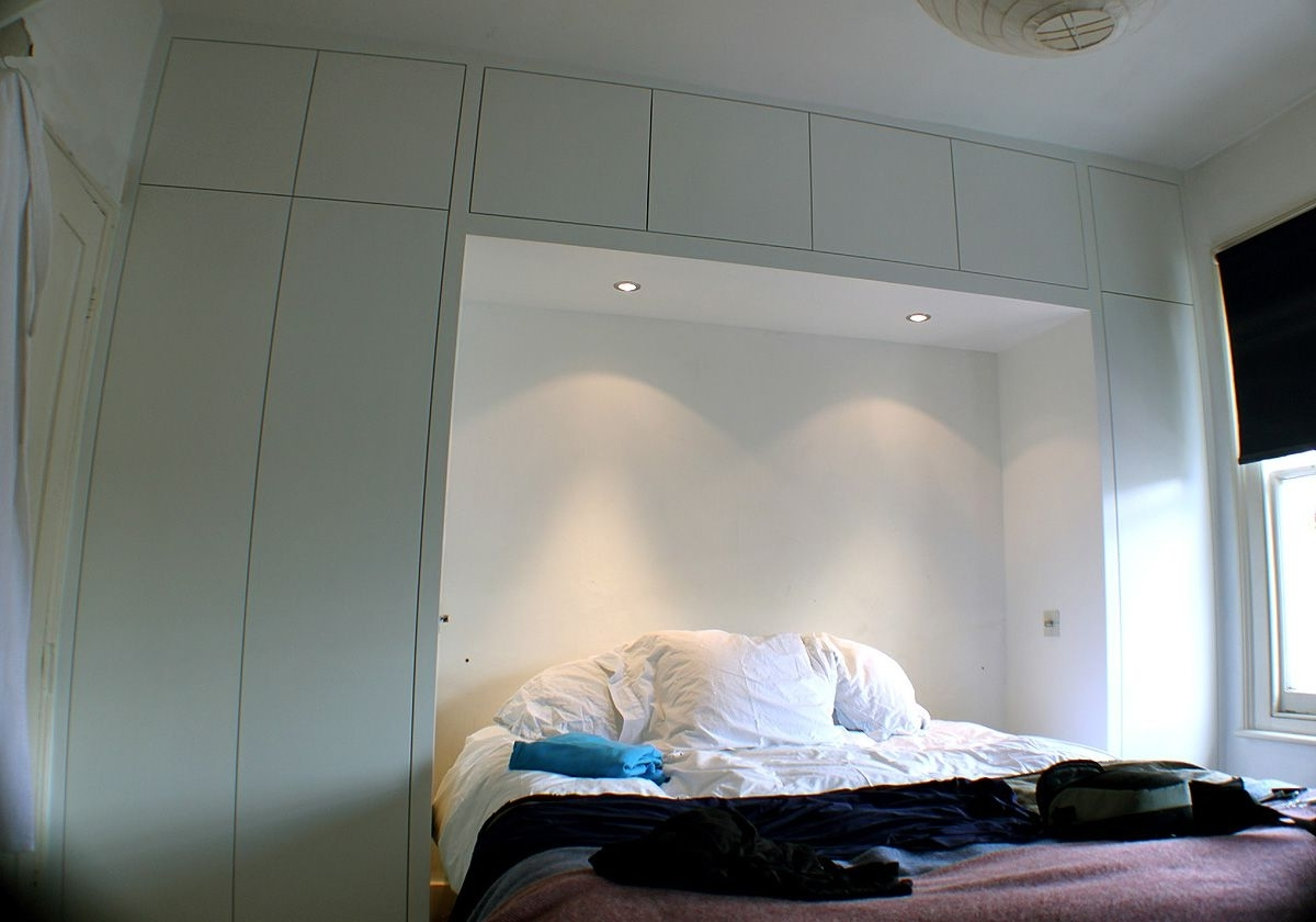 Well Liked Built In Bedroom Wardrobe Cabinets Around Bed – Google Search Regarding Wardrobes Beds (View 14 of 15)