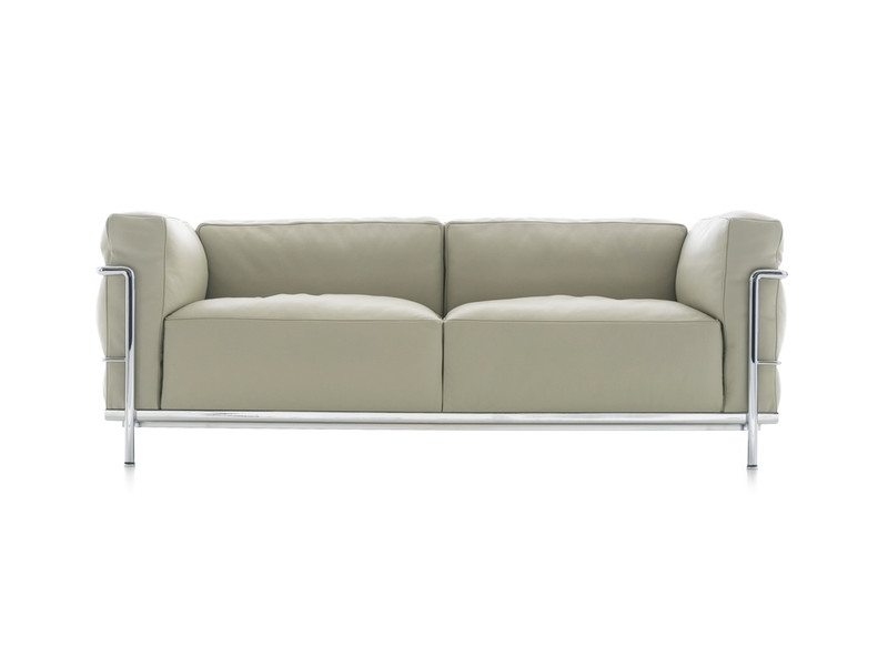 Well Liked Buy The Cassina Lc3 Two Seater Sofa At Nest.co (View 10 of 10)