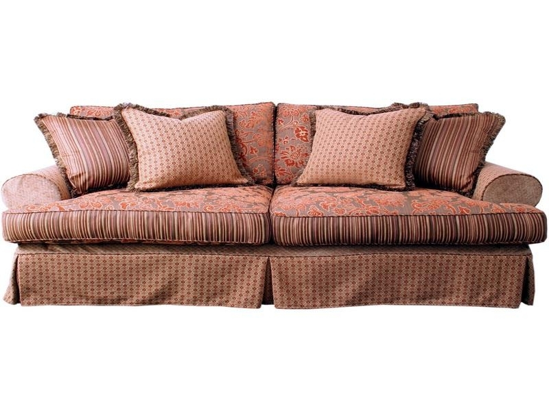 Well Liked Country Couches Furniture, Slip Covered Sofas Country Style Throughout Country Sofas And Chairs (View 8 of 10)
