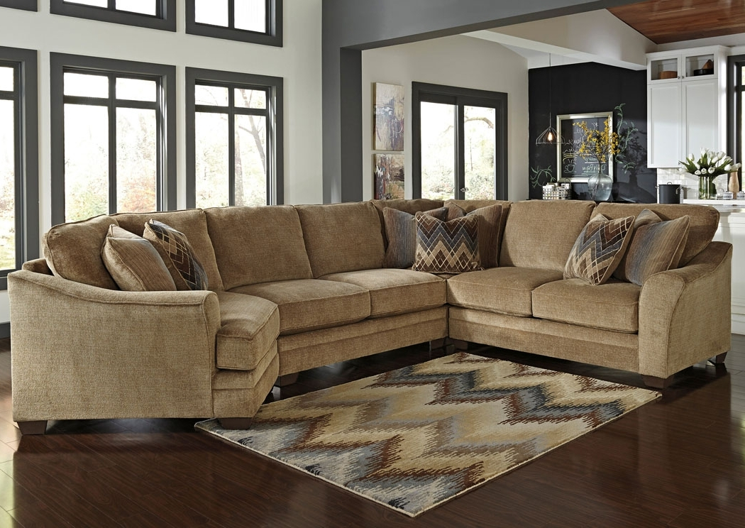Well Liked Cuddler Sectional Sofas Regarding Lonsdale Barley Right Arm Facing Cuddler End Sectional ,benchcraft (View 9 of 10)