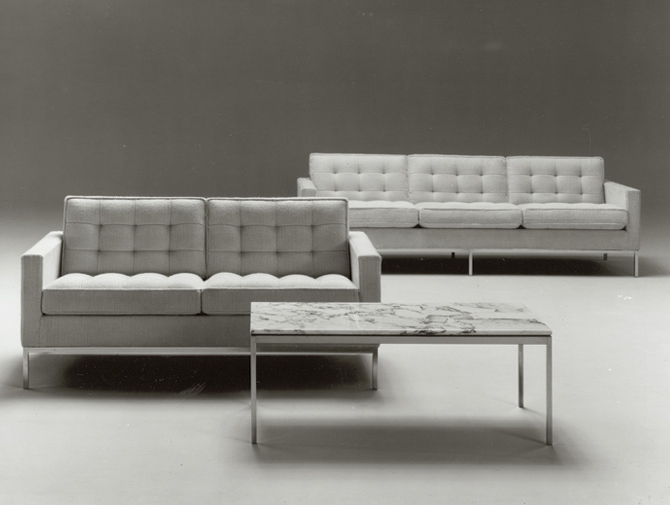 Well Liked Florence Knoll Sofa (View 3 of 10)