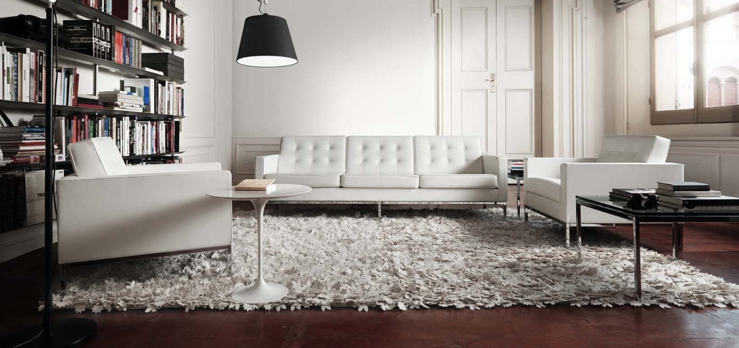 Well Liked Florence Knoll Sofa (View 10 of 10)