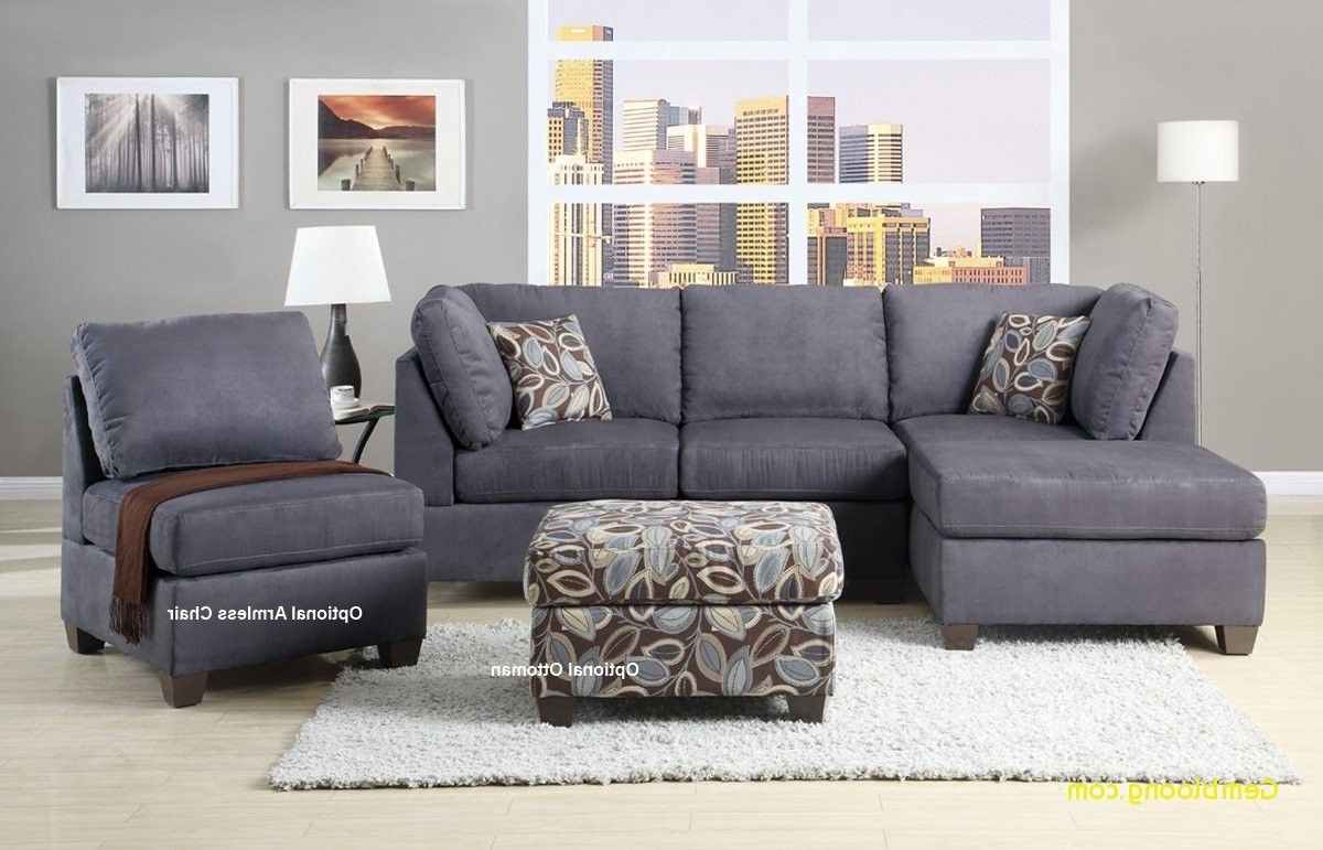 Well Liked Microfiber Sectionals With Chaise Unique Sectional Sofa Design Pertaining To Sectionals With Reversible Chaise (View 8 of 15)