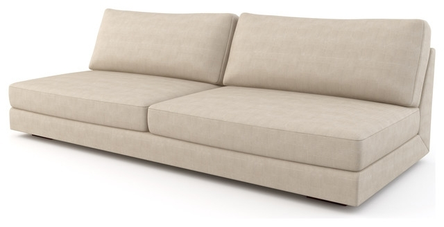 Well Liked Sectional Sofa Design: Armless Sectional Sofa Covers Small Spaces Throughout Armless Sectional Sofas (View 8 of 10)