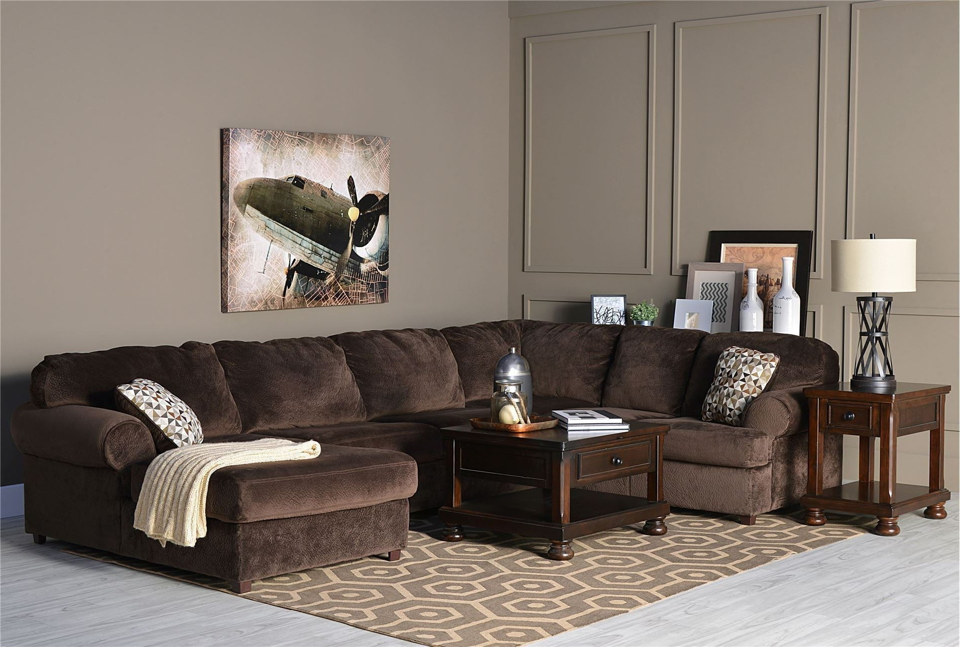 Well Liked Sofa: 3 Piece Sectional Sofa. Small Couch With Chaise (View 14 of 15)