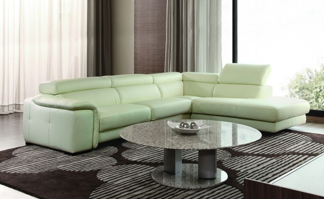 Well Liked Sofa Beds Design: Astounding Modern Green Sectional Sofa With Pertaining To Green Sectional Sofas With Chaise (View 6 of 10)