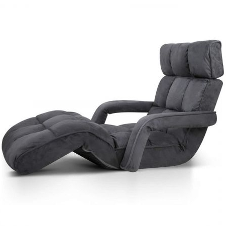 Well Liked Sofa Lounge Chairs For Single Size Adjustable Lounge Chair Sofa Bed Floor Recliner Chaise (View 5 of 10)