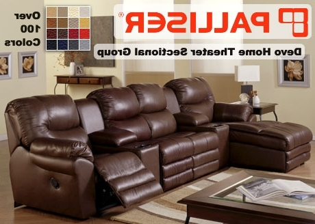 Well Liked Theatre Sectional Sofas Pertaining To Palliser Home Theater Sectional Sofa Sets (View 10 of 10)