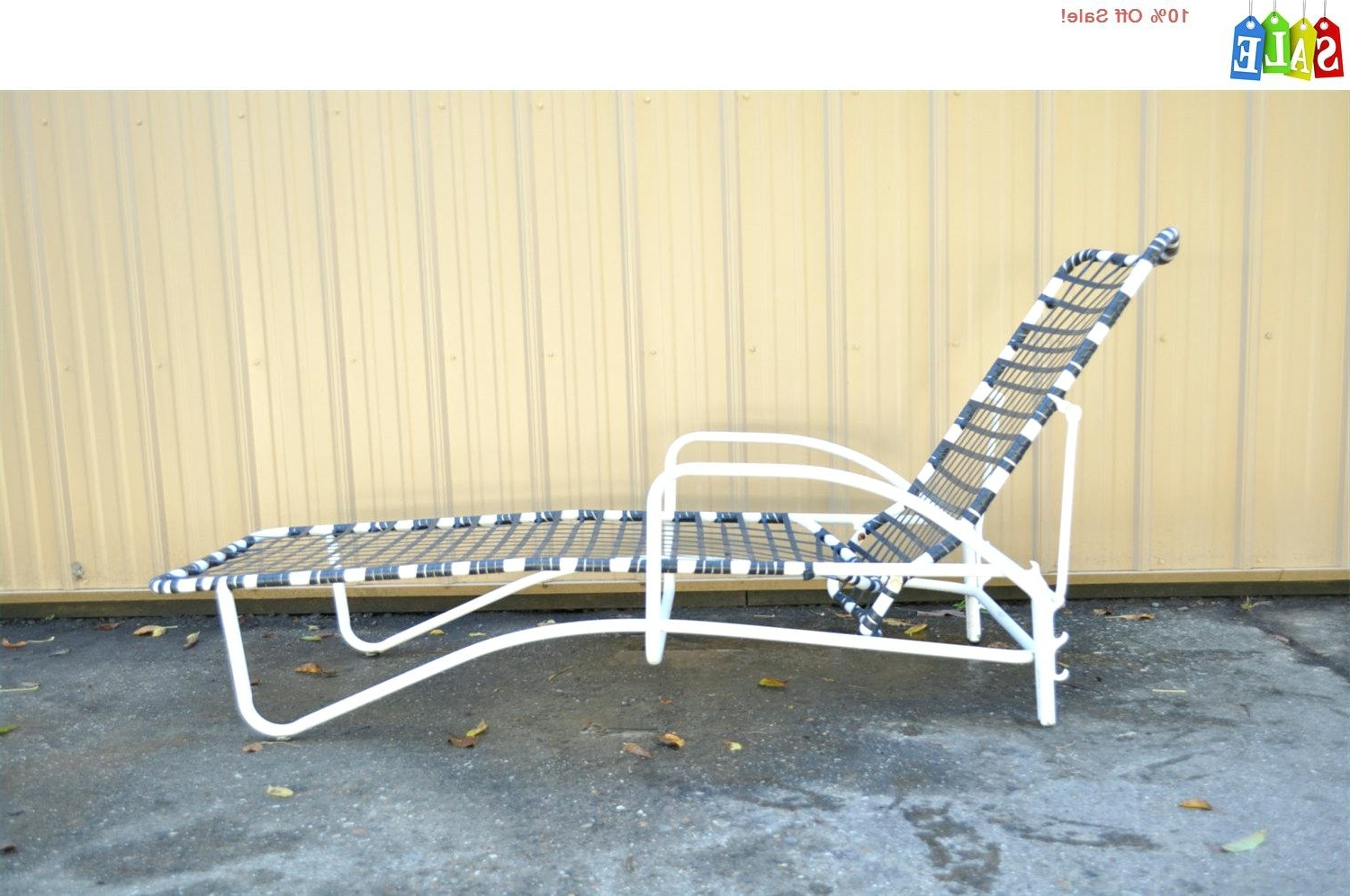Well Liked Vintage Outdoor Chaise Lounge Chairs Inside Vintage Aluminum Lounge Chairs • Lounge Chairs Ideas (View 2 of 15)