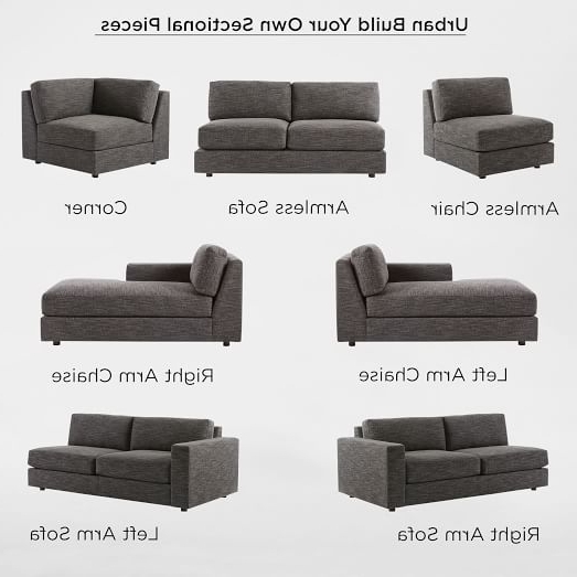 Your Furniture: 10 Best Ideas Of Individual Piece Sectional Sofas