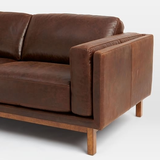 West Elm Within Well Liked Aniline Leather Sofas (View 6 of 15)