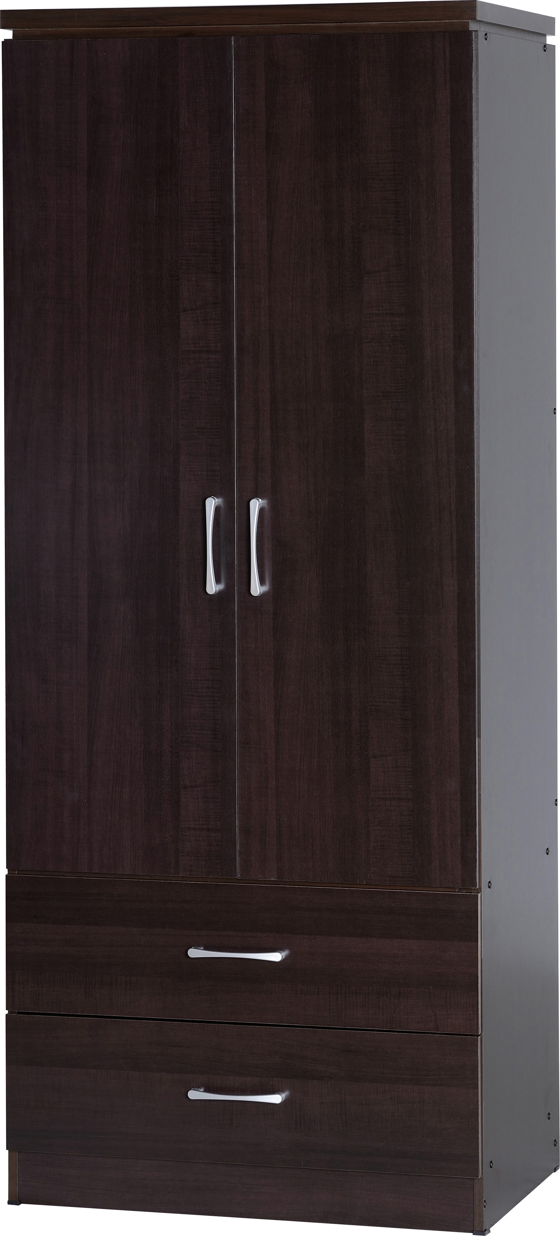 White 2 Door Wardrobes With Drawers For Well Liked Seconique Plc Product Info (View 9 of 15)