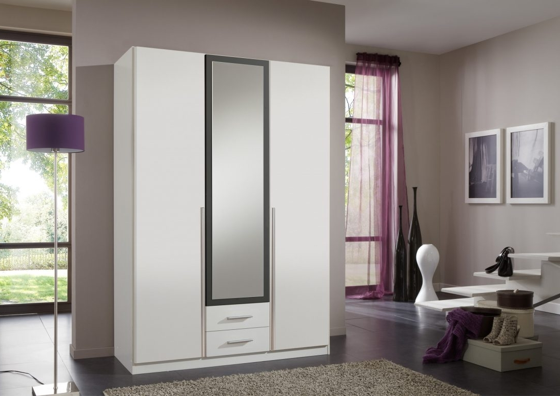 White 3 Door Wardrobe With Drawers And Mirror Argos Doors You Will Pertaining To Favorite White 3 Door Wardrobes With Mirror (View 10 of 15)