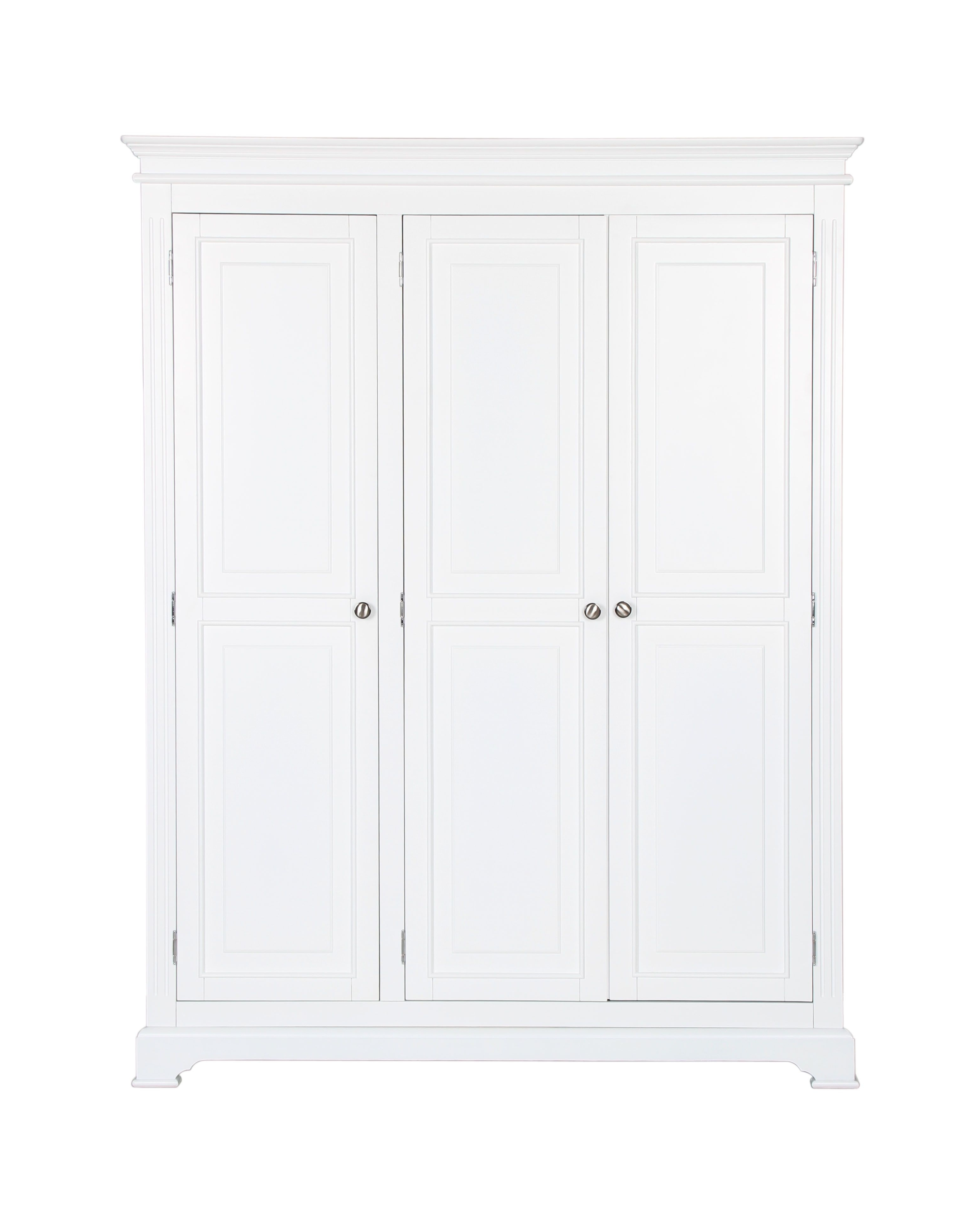 White 3 Door Wardrobes With Well Known Seattle 2 Door Wardrobe £ (View 15 of 15)
