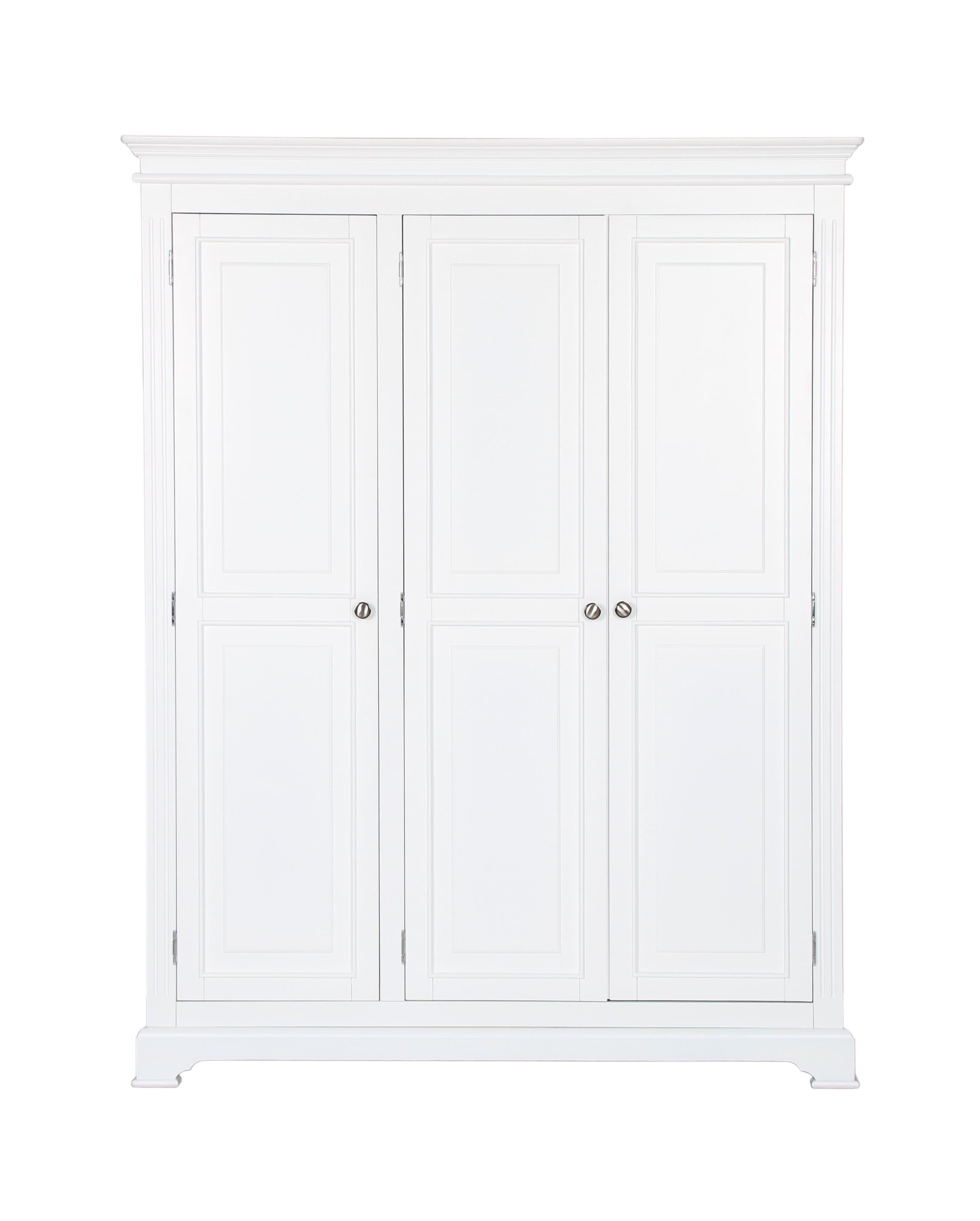 White 3 Door Wardrobes With Well Known Seattle 2 Door Wardrobe £ (View 7 of 15)