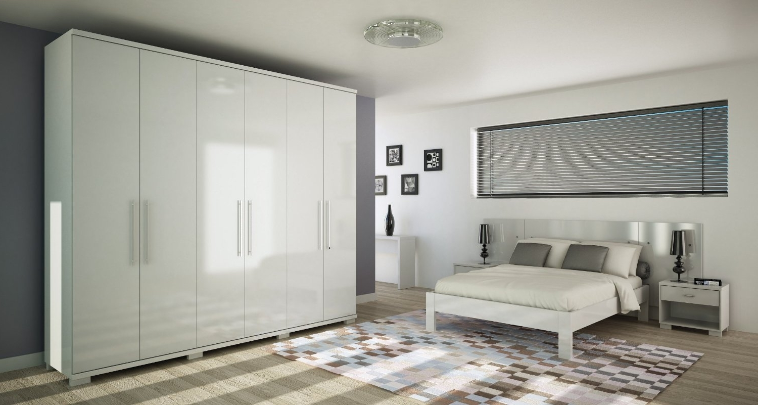 White Bedroom Wardrobes Within Newest How To Do Patterns Door On Wardrobe – Google Search (View 14 of 15)
