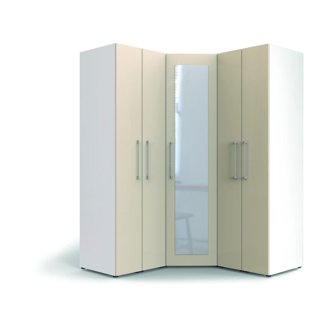 White Gloss Corner Wardrobes With Regard To 2017 Novel Ideas Of Corner Wardrobe For Your Room – Blogalways (View 15 of 15)