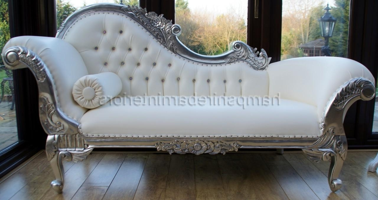 White Leather Chaise Lounges Within Widely Used Wonderful Chaise Lounge Sofa Sectional Images Ideas – Surripui (View 15 of 15)